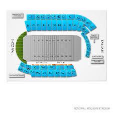 Percival Molson Stadium 2019 Seating Chart