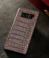 galaxy note 9 8 crocodile leather case galaxy note 9 8 alligator leather