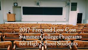 summer college programs