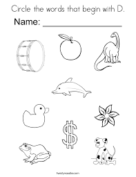 Small Picture Coloring Pages Letter D My A To Z Coloring Book Letter D Page