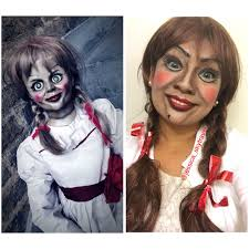 annabelle doll makeup costume