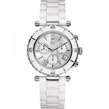 guess collection gc i43001m1 chronograph white ceramic women s guess collection gc i43001m1 chronograph white ceramic women s watch