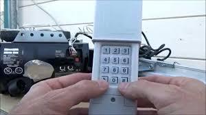 how to reset the garage door opener repair doors code for how to reset the garage door opener repair er keypad smart learn on craftsman 315 garage