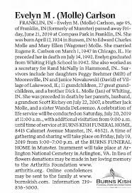 Evelyn Carlson Obit - Newspapers.com