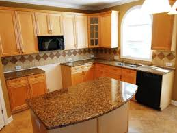 Colonial Gold Granite Kitchen Mirador Gold Granite