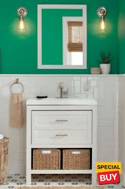 Bathroom vanity design Simple 30 Glacier Spa Home Depot Bathroom Vanities The Home Depot