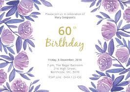 60 birthday invitations 60th birthday invitations designs by creatives printed by