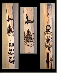 Wood Burning Designs For Walking Sticks Gift Ideas For Men Husband Gift Bestman Gift Walking Stick