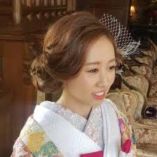 At Tomo18make Yoshida Tomoyo 和装に洋髪style ナチュラルにボブ