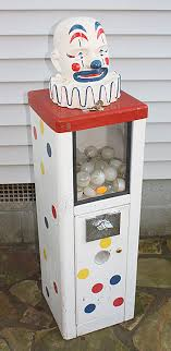 Toy Prize Vending Machine Delectable Circus Clown Toy Prize Vending Machine