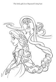 Free Printable Tangled Coloring Pages