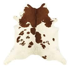 natural cowhide rug white and brown ballard designs white natural cowhide rug