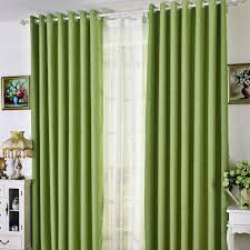 bright green curtains fresh affordable linen cotton solid bedroom curtains