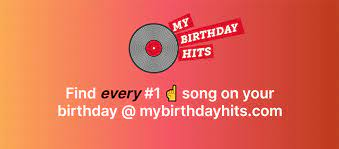 Find the #1 song on any day. My Birthday Hits Home Facebook