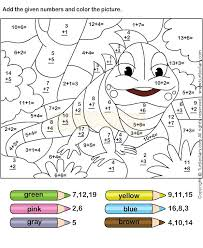 Small Picture Best 25 Math coloring worksheets ideas on Pinterest Addition