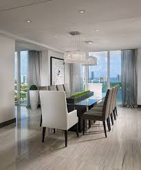 contemporary dining room lighting contemporary modern. contemporary penthouse apartment situated in miami florida designed by guimar urbina of kis interior dining room lighting modern