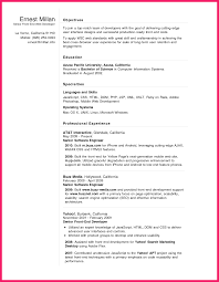 Front End Developer Resume Bio Letter Format