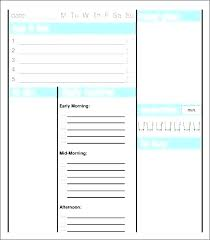 Teacher Daily Schedule Template Free Teacher Day Planner Teacher Daily Planner Template Free