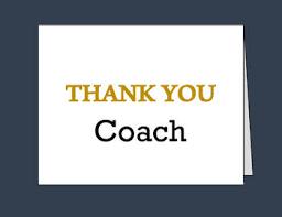 Printable Thank You Cards Coach Thank You Card Printable Thank You Cards Pdf