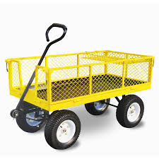 garden carts at lowes. Ft. Steel Yard Cart Garden Carts At Lowes Lowe\u0027s