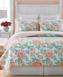 Macy Bedroom Furniture Closeout Closeout Martha Stewart Collection Village Peony Quilts And Shams
