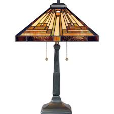 miracle quoizel lamp tf885t stephen 2 light table vintage bronze com