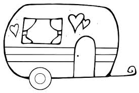 Free Happy Camper Coloring Pages Coloring Beautiful Page