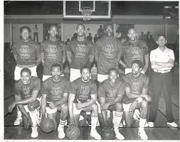 sf bay area pro am players gus williams john lambert fred atkins mike baker howard holt doug harris s victor john smith ralph howe andre keyes chris munk
