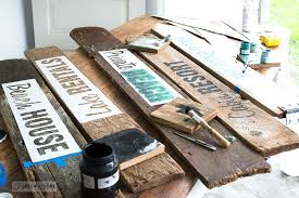 make your own rustic beach lake and bed breakfast signs funky junk s