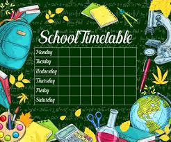 Timetable Stock Photos And Images 123rf