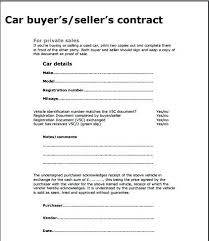 Private Car Sale Agreement Voetstoots Template Car Swap Agreement