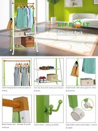 How High To Hang A Coat Rack Amazon Lifewit Heavy Duty Commercial Grade Clothing Garment 49