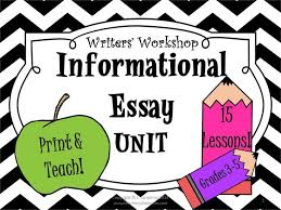 best informative essay ideas informational  print and teach grades 3 5 how to write an informational essay writing
