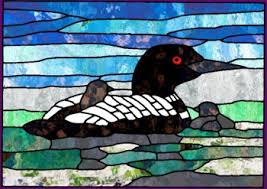Loon - Stained Glass Pattern &  Adamdwight.com