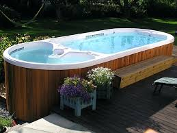 pool hot tub combo dimension one spas hot tubs and exercise spas fiberglass pool hot tub pool hot tub
