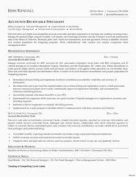 Account Receivable Resumes 9 Account Receivable Cover Letter Proposal Sample