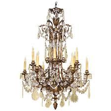bronze crystal chandelier napoleon iii style bronze and crystal chandelier napoleon home pictures