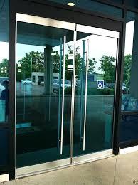commercial glass door pulls commercial door pulls