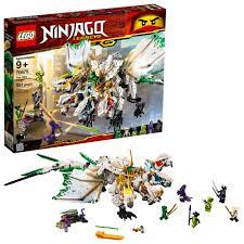 LEGO NINJAGO Legacy The Ultra Dragon 70679 Building Kit (951 Pieces): Buy  Online at Best Price in UAE - Amazon.ae