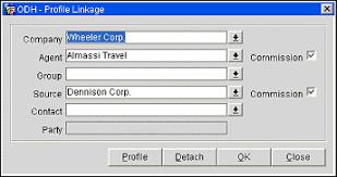 travel profile profile linkage agent company