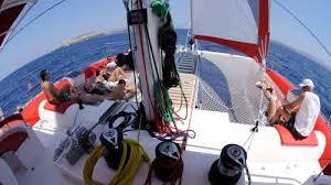 Dream Catcher Boat Santorini Catamaran Caldera Cruise with Barbecue Santorini Island Expedia 6
