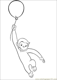Curious George 29 Coloring Page Free Curious George Coloring Pages