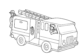 Free Fire Truck Coloring Page Coloring Page Book For Kids