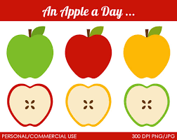 green and red apple clipart. apple day clipart · green and red