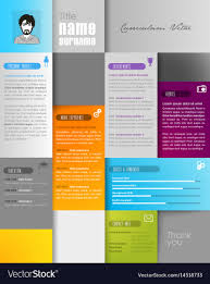 Creative Resume Template With Place For Your Photo