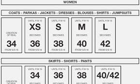 Mens Dress Shirt Conversion Chart 40 True Pants Size Comparison Chart