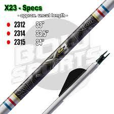 Easton X23 Shafts