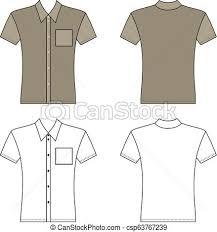 Pocket Template T Shirt Man Pocket Template Front Back Views