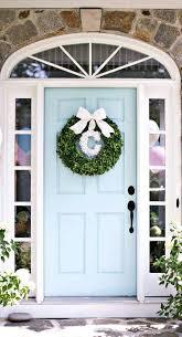 Front Doors : Home Door Ideas Color Benjamin Moore Spring Rain ...