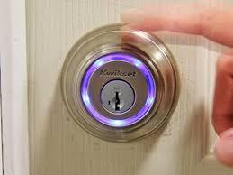 smart front door locksTake a look at the new Kwikset Kevo Bluetooth Door Lock  YouTube